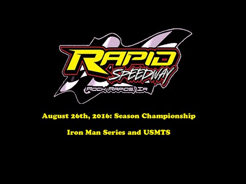 Race 14, Aug 26th, 2016: Season Championship with USMTS and Iron Man Series