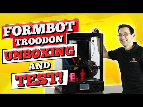 Formbot Troodon 3D Printer Unboxing And Test!