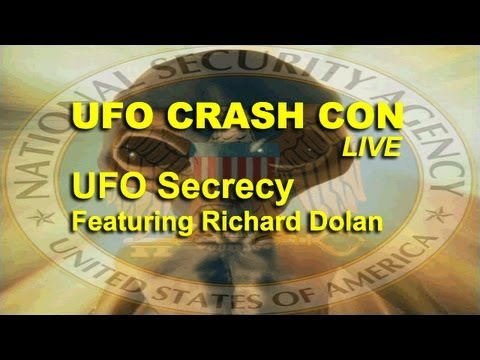 UFO Crash Con - UFO Secrecy - Richard Dolan LIVE FEATURE
