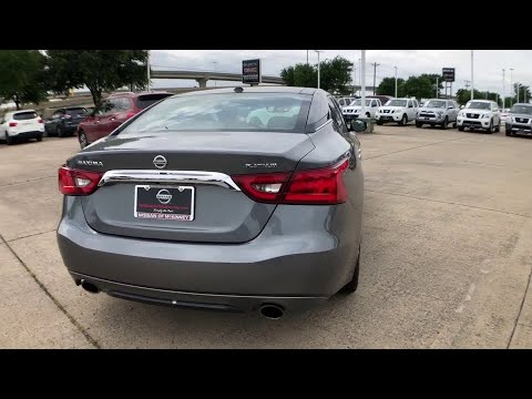 2017 Nissan Maxima Mckinney, Frisco, Plano, Dallas, Fort Worth, TX HC451976