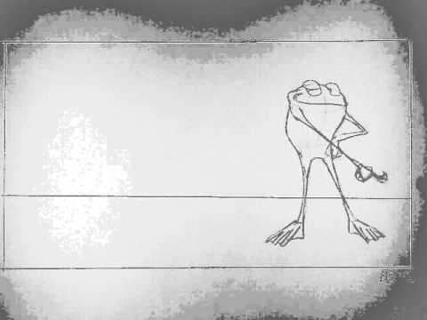 "2D Animation: ""Dancin' Frog"" Pencil Test"