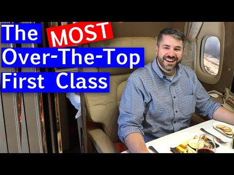Emirates NEW First Class Suite - Boeing 777