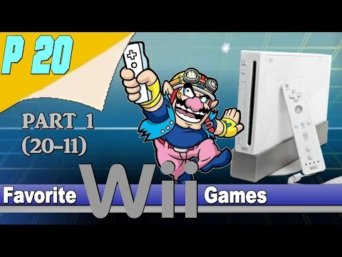 20 Personal Favorite Wii Games Part 1 (20-11)