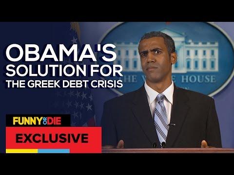Obamas Greek Debt Crisis Solution