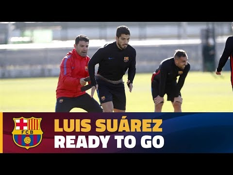 Luis Suárez eyeing Liga clash at Leganés