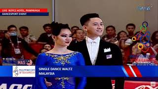 SEA Games 2019 - Dancesport | Single Dance Waltz All Dancers - Standard Discipline Video