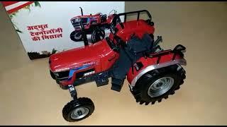 Arjun novo 605  toy tractor model (unboxing) 🚜