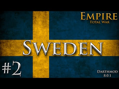 Empire Total War: Darthmod - Sweden Campaign #2 ~ Bloody Hell Britain!