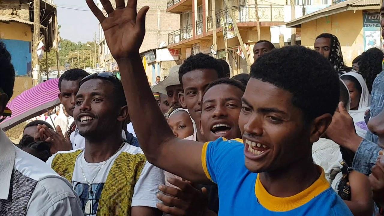 Download Ethiopian  best cultural  dance  timket in gonder