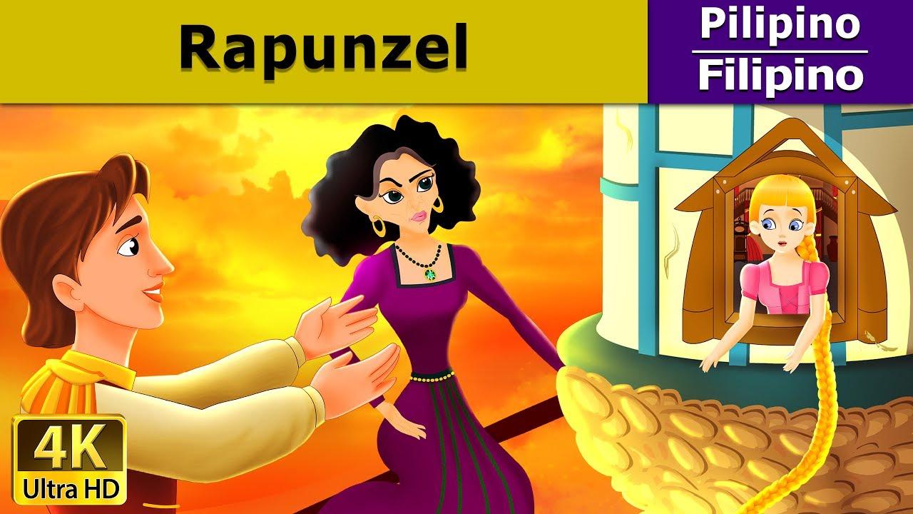 Si Rapunzel - Kwentong Pambata - Pambatang Kwento - 4K UHD - Filipino Fairy Tales