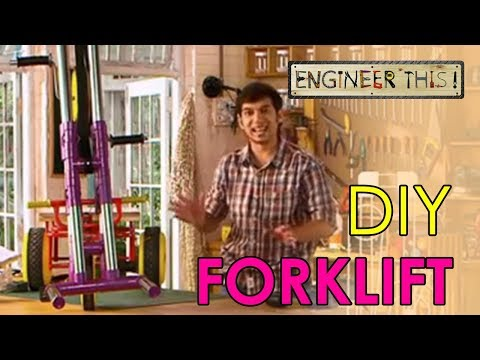 Engineer This! - DIY Forklift | Easy Science Experiments | S01 - E04