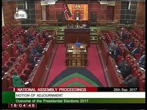 Ugunja MP Opiyo Wandayi fires the aghast house.
