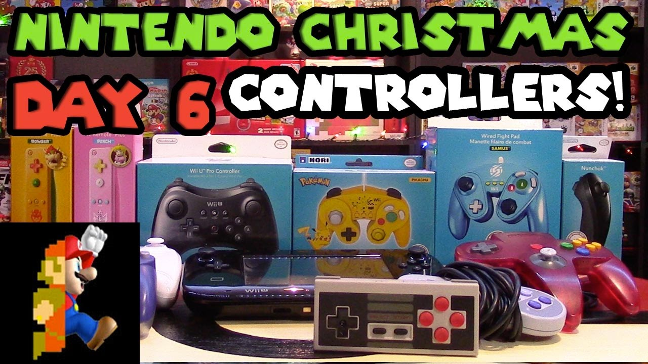 Nintendo Christmas: Day 6 - Controller Accessories - YouTube