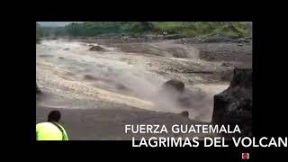 volcan de fuego tira mas lava jun 2018  fuerza guatemala por aquellos que no lograron escapar