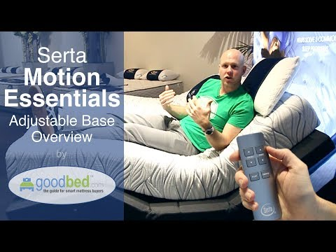 Serta Motion Essentials III Adjustable Bed EXPLAINED by GoodBed.com