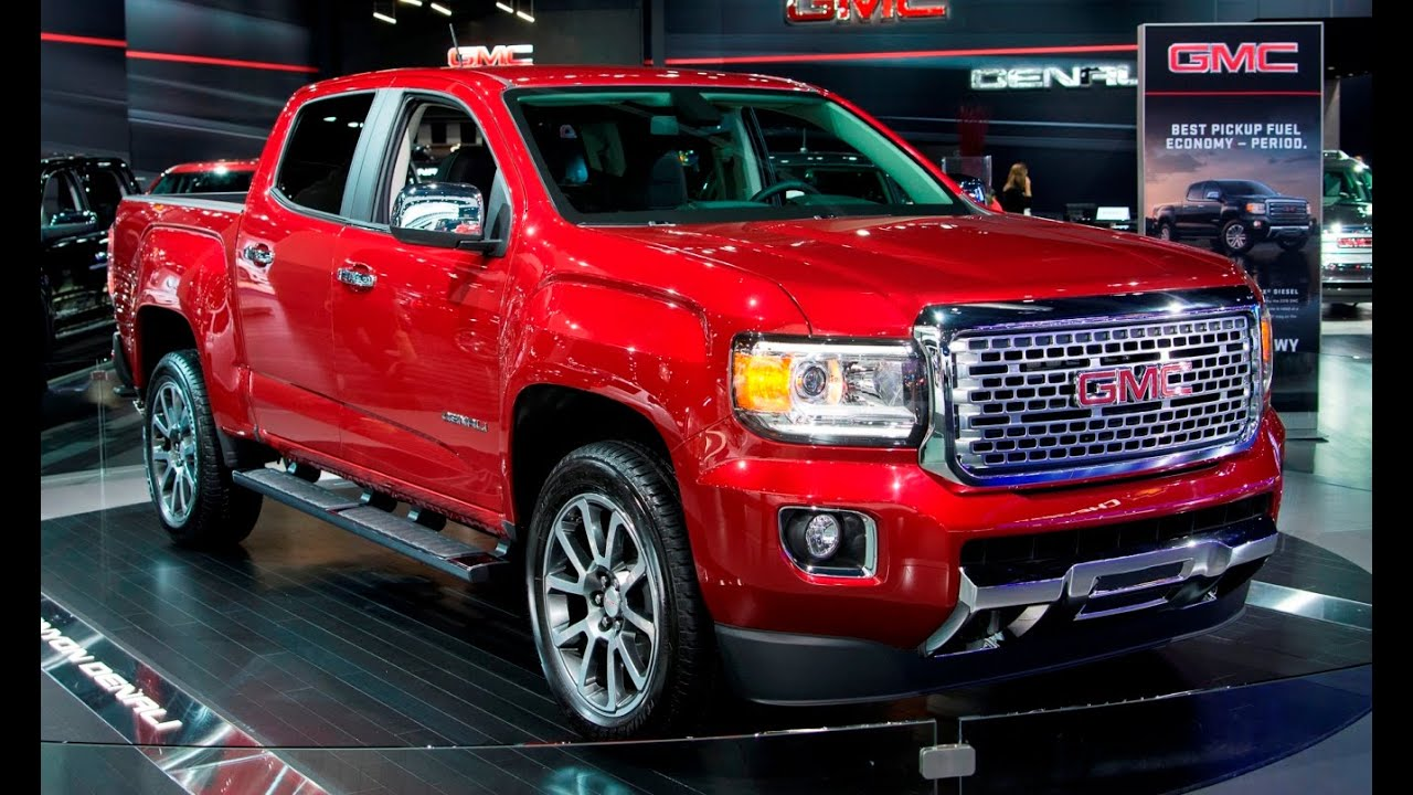 2017 gmc canyon denali la auto show 2015. Black Bedroom Furniture Sets. Home Design Ideas
