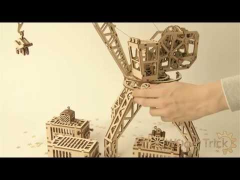 "Wood trick. Review of model ""Crane"""