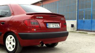 CITROEN XSARA TD SMOKE DIESEL POWER exhaust sound