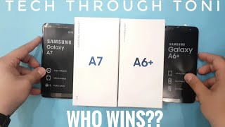 Samsung Galaxy A7 2018 vs Samsung Galaxy A6+ 2018