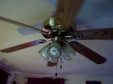 Wal Mart Home Trends 52 Quot Ceiling Fan Youtube