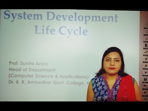 SDLC System Analysis & Design: System Development Life Cycle In Hindi Under E-Learning Program