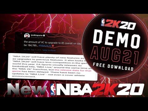 NBA 2k20 PRELUDE RELEASE DATE!