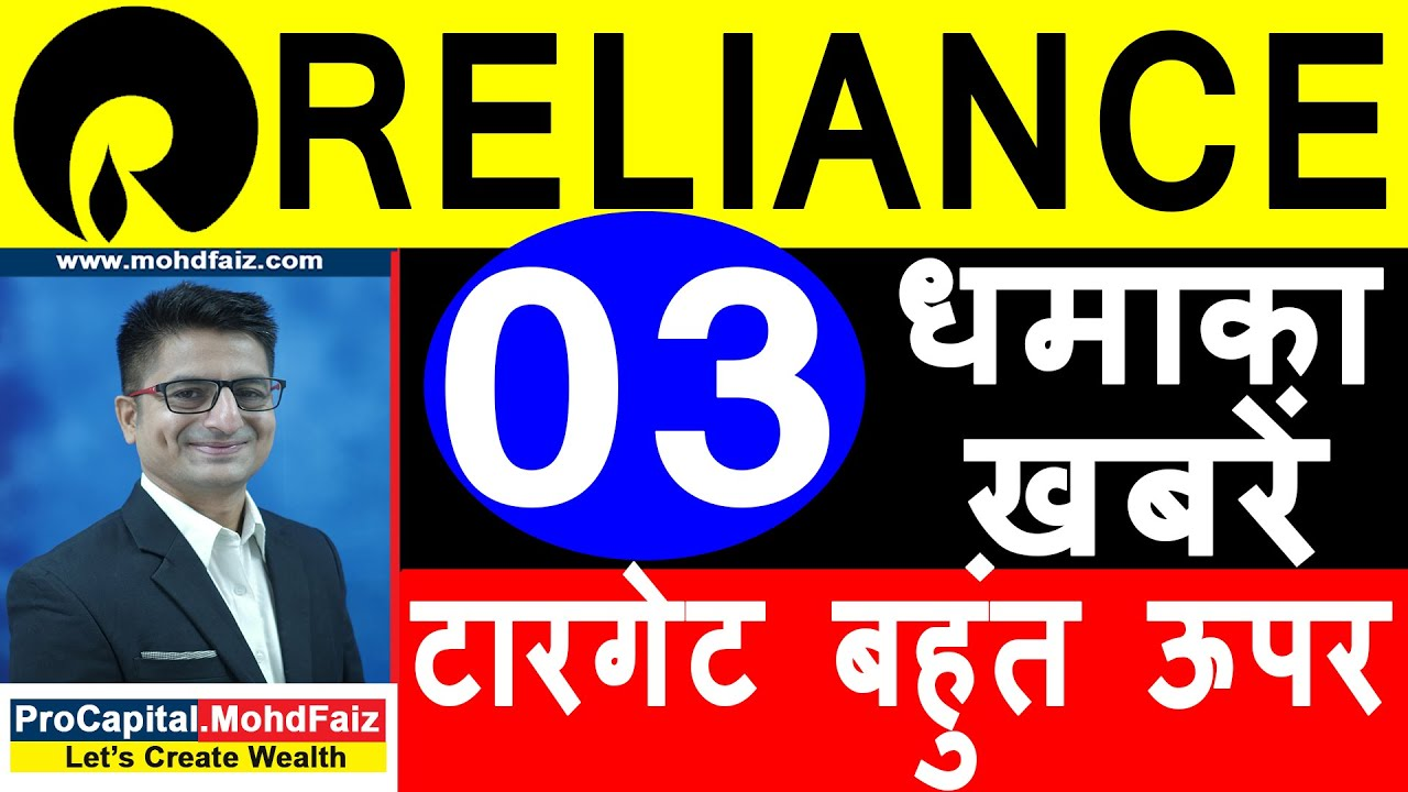 Reliance Share Price Latest News Today Reliance Share Price Target Reliance Stock Analysis Youtube