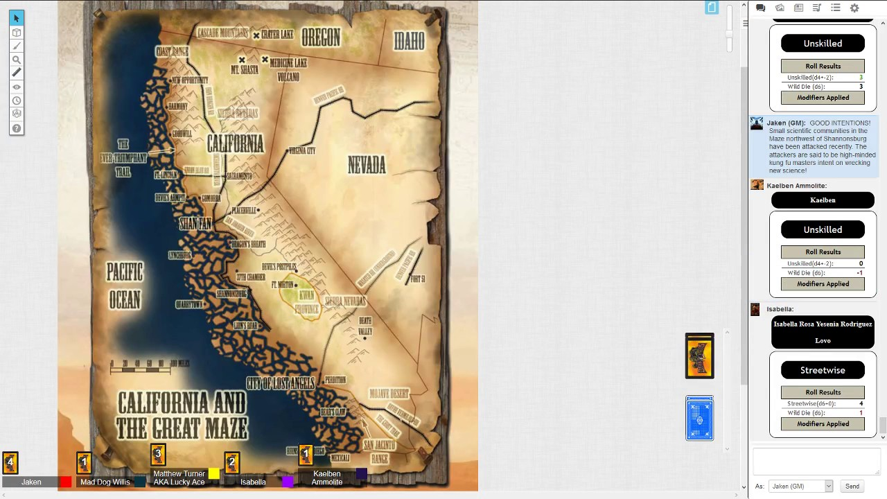 Deadlands California Map.Deadlands Reloaded Session 22 Part 3