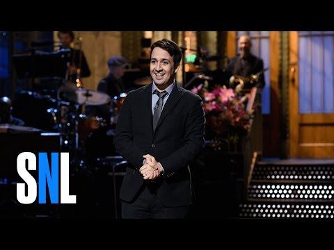 Lin-Manuel Miranda Monologue - SNL