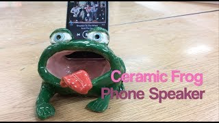How to Make a Ceramic Phone Speaker