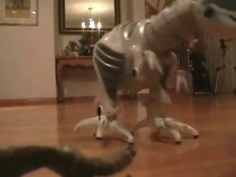 Roboraptor (Robozilla) vs.