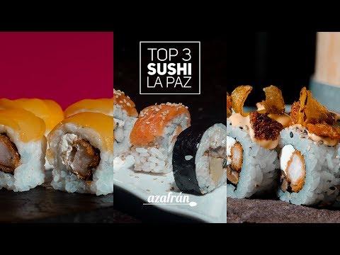 TOP 3: El sushi más votado de La Paz