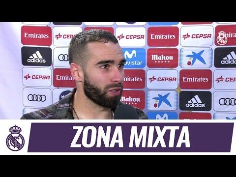Carvajal, Isco, Navas y Modric analizaron la victoria frente al Betis