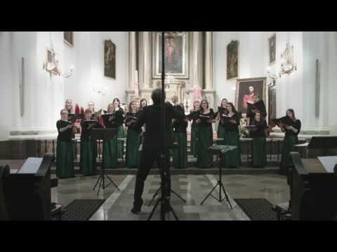 Chór WUM: Johannes Brahms -  Die Müllerin op. 44 nr 5 (Zwölf Lieder und Romanzen)