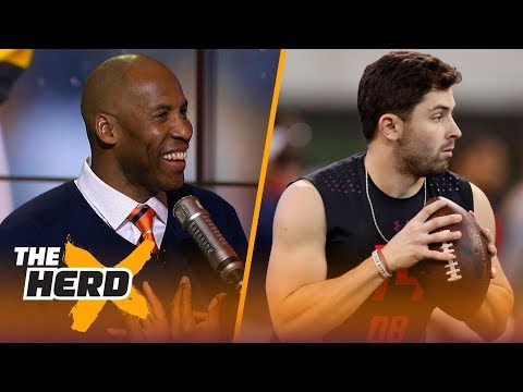 Bucky Brooks And Colin Cowherd On The 2018 NFL Draft Quarterback Class | THE HERD
