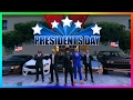 GTA ONLINE PRESIDENT S DAY 2017 SPECIAL   FAMOUS PRESIDENTS IN GTA 5   DONALD TRUMP  OBAMA   MORE