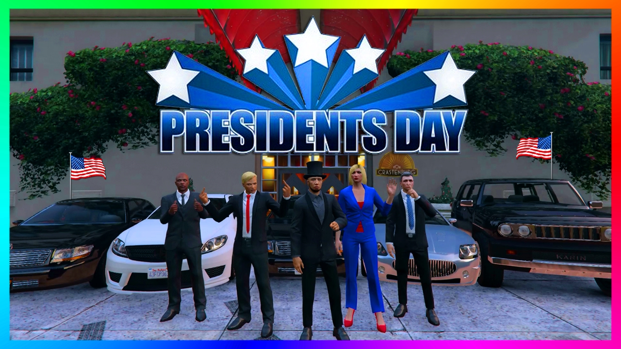 gta online presidents day 2017 special famous