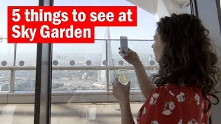 5 things to see at Sky Garden   Time Out London