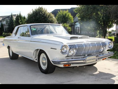 1963 Dodge Polara For Sale - YouTube
