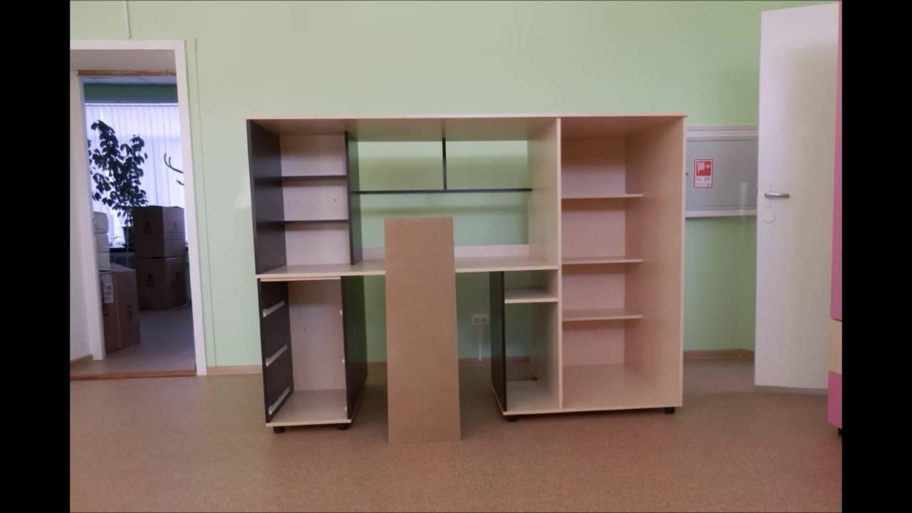 Кровать чердак для 2 детей - YouTube