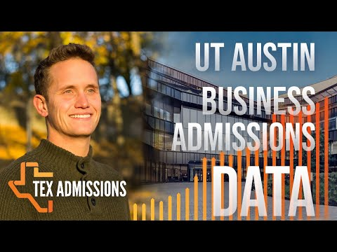 UT-Austin McCombs School of Business Admissions Data