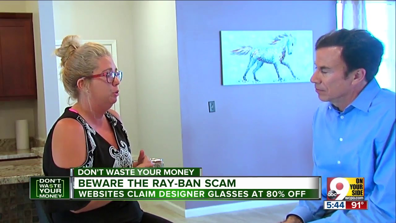 3ed20d13dc Beware the Ray-Ban scam - YouTube
