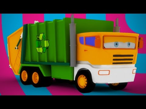 Thumbnail: garbage truck for kids | videos for kids | learn transport