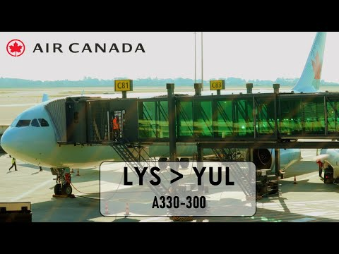 Tripreport Lyon To Montreal Air Canada A330 ECONOMY