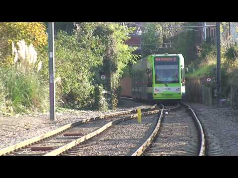 London trams 1 Paddington-Wimbledon-Mitcham