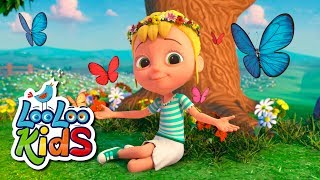 Mary, Mary, Quite Contrary - THE BEST Educational Songs for Children | LooLoo Kids