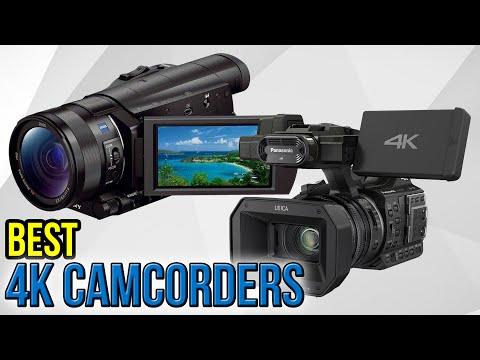 6 Best 4k Camcorders 2017