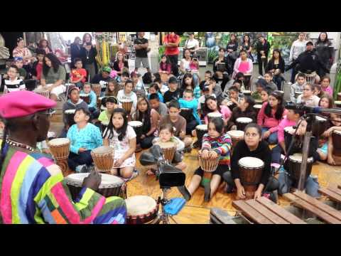 African Drumming Outreach With Children
