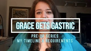 * VSG PRE OP Series * My Timeline & Surgery Requirements *