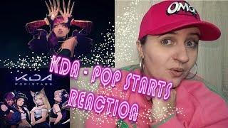 K/DA - POP/STARS (ft Madison Beer (G)I-DLE Jaira Burns) REACTION